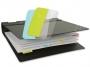 a5100357 - zakładki indeksujące samoprzylepne 3L białe, 12x40 mm, 10513, 48 szt./op.