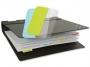 a5100360 - zakładki idenksujące samoprzylepne 3L białe, 12x25 mm, 10511, 72 szt./op.