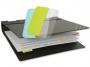 a5100364 - zakładki indeksujące samoprzylepne 3L mix kolorów, 12x40 mm, 10512, 48 szt./op.