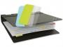 a5100365 - zakładki indeksujące samoprzylepne 3L wielokrotnego użytku, mix kolorów, 12x40 mm, 10522, 48 szt./op.