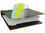 a5100366 - zakładki indeksujące samoprzylepne 3L wielokrotnego użytku, mix kolorów, 12x25 mm, 72 szt./op.