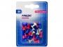 a5100610 - pinezki do tablic korkowych, kolorowe beczułki Memoboards 7 mm, mix kolorów, MB12B30, 30 szt./op.