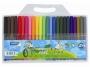 a5101121 - flamastry szkolne Lambo School pisak na bazie wody, 24 kolory/kpl.