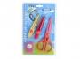 a5101129 - nożyczki kreatywne z wymiennymi ostrzami + dziurkacz Lambo School zestaw fantazyjny