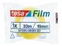 a5101486 - taśma klejąca biurowa transparentna Tesa Standard,19 mm x33m