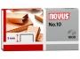 a5102177 - zszywki nr 10 Novus miedziowane 1000 szt.op.