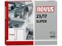 a5102182 - zszywki 23/17 Novus Super 1000 szt./op.