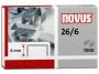 a5102190 - zszywki 26/6 Novus 1000 szt./op.