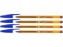 b872721 - długopis Bic Cristal Fine, niebieskie, 4 szt/op.