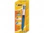 b887136 - długopis 4-kolorowy automatyczny, 0,4 mm Bic 4 Colours GripTowar dostępny do wyczerpania zapasów!