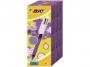 b892290 - d�ugopis Bic 4 Colours Grip Fashion, automatyczny, 4-kolorowy, gr.linii 0,4mm