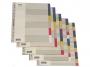 be172155 - przekładki do segregatora A4 PP Elba 5 stron, koloroweTowar dostępny do wyczerpania zapasów!!