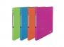 be41140 - segregator prezentacyjny ofertowy A4 Elba Art Pop, szerokość grzbietu 20 mm, na 4 ringi, mix kolorów, 12 szt./op.