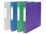 be41143 - segregator prezentacyjny ofertowy A4+ Elba 2Life, szerokość grzbietu 40 mm, na 4 ringi, mix kolorów, 10 szt./op.