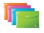 be41601 - teczka kopertowa A5 Elba Art, PP, na zatrzask, mix kolorów, 5 szt./op.