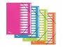 be499530 - teczka segregująca A4 z 12 przekładkami Elba ArtPop,PP, mix kolorów, 12 szt./op.
