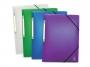 be499533 - teczka z gumką A4 plastikowa Elba 2Life, PP, mix kolorów, 12 szt./op.