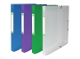 be499534 - teczka z gumką A4 plastikowa Elba 2Life, PP, szeroka 25 mm, mix kolorów, 12 szt./op.