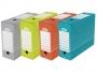 be83430 - pudło archiwizacyjne Elba A4, karton o szerokości 100 mm, mix kolorów, 10 szt./op.