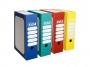 be83701_ - pudło archiwizacyjne Elba TRIC COLOR, na zawartość segregatora A4, karton o wym. 265x95x340 mm