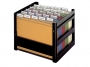 be84408_ - pojemnik, kartoteka na teczki zawieszane Elba GO - Fix, 276x362x324 mm, bez teczek
