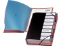 bx317010 - teczka segreguj�ca Bantex A4 PP, 8 przek�adek, czarna