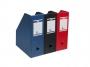 bx4013__ - pojemnik na dokumenty, czasopisma Elba składany A4 110 mm, PVC