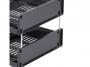 d0132001 - nóżki do półek na dokumenty Durable Optimo, srebrne