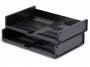 d0801058 - półka, szuflada na dokumenty Durable Optimo pozioma, antracytowa