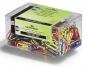 d124100 - spinacze kolorowe 26 mm, małe Durable polakierowane, 500 szt./op.