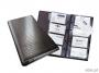 d2403 - wizytownik album na 200 wizytówek Durable Visifix Centium, 255x145 mm, ring, czarny