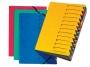 d241310_ - teczka segreguj�ca Pagna A4 Easy, kartonowa, 12 przek�adek, 5szt./op.