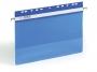 d256106 - skoroszyt wpinany / zawieszany A4 plastikowy Durable Economy PP, z otworami do segregatora, niebieski