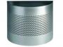 d331723 - kosz, pojemnik na śmieci 20l metalowy Durable 20/P 165 mm, półokrągły, perforacja 165 mm, srebrny
