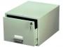 d335110 - kasetka na kartoteki A4 Durable zamykana, szara
