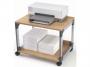 d3710124 - stolik biurowy Durable System Multi Trolley 48, srebrny/buk