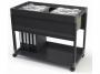 d3785__ - wózek - kartoteka Durable System File Trolley 100 Multi, do teczek zawieszanych A4, z półką