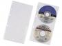 d5203 - koszulka na płyty na 2 CD/ DVD A4 Durable do segregatora, 5 szt./op.