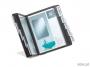 d5506 - system prezentacyjny, informacyjny A5 na stół Durable Vario, czarny, zestaw 10x panel