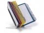 d5510 - system prezentacyjny, informacyjny A4 na stół Durable Vario, mix kolorów, zestaw 30x panel