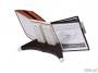 d5519 - system prezentacyjny, informacyjny A4 na stół Durable Sherpa, mix kolorów, zestaw 20x panel