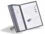 d5540 - system prezentacyjny, informacyjny A4 na stół Durable Sherpa Soho, czarny, zestaw 5x panel