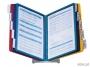 d5570 - system prezentacyjny, informacyjny A4 na stół Durable Vario, mix kolorów, zestaw 10x panel