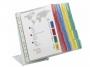 d5688 - system prezentacyjny, informacyjny A4 na stół Durable Function, mix kolorów, zestaw 20x panel