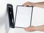 d585401 - panel informacyjny A4 10x + uchwyt / panel ścienny Durable Sherpa Style Wall