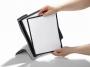 d585501 - panel informacyjny A4 10x + uchwyt / panel stołowy, zestaw na biurko Durable Sherpa Style Table