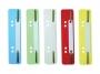 d691000 - wąsy do skoroszytów Durable do wpinania do segregatora, PP, mix kolorów, 25 szt. /op.