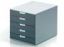 d760527 - pojemnik na dokumenty, czasopisma / sorter biurkowy Durable Varicolor z 5 szufladami