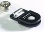 d8188 - klips do identyfikatora z uchwytem Durable Card Fix, czarny, 50 szt./op.