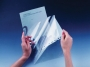 d855219 - obwoluta, ofertówka na dokumenty A4 do kserowania folii L Durable Duraframe PP, 100 szt./op.